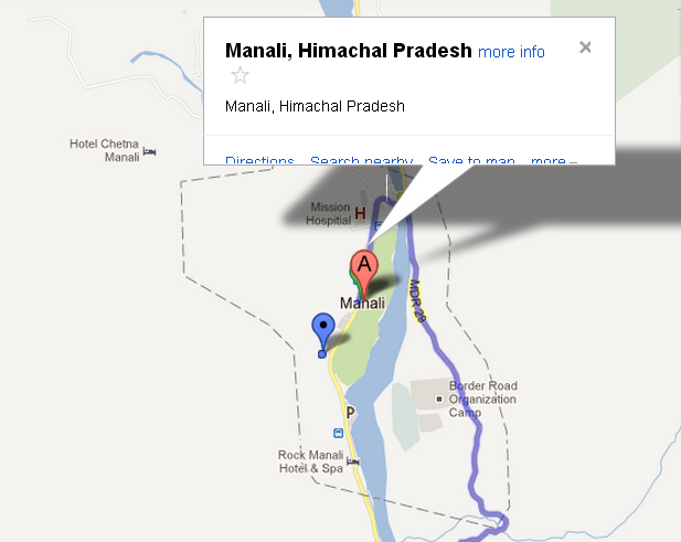 Manali India Map.Check Manali Map Manali India